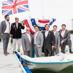 Wedding photography with male party on a boat milford michigan photography