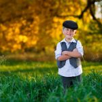 Lifestyle photography with little boy in the grass milford michigan photography